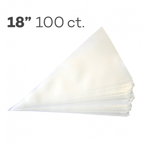 """Piping Bags 18"""", Pack of 100"""