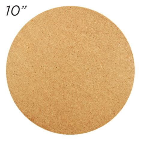"Masonite Cake Board 10"" Round"