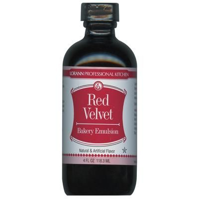 4oz Baking Emulsion - Red Velvet