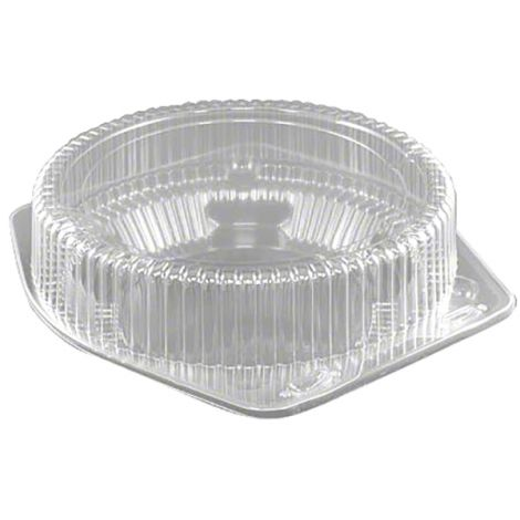 "10"" Shallow Pie Container, 6 ct"