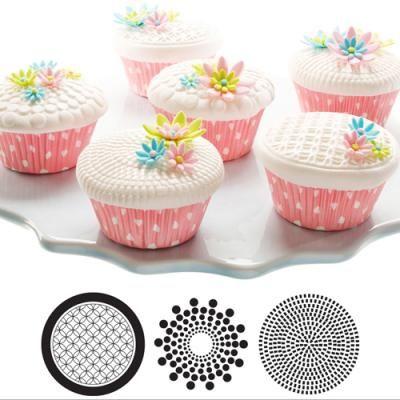 Cupcake/ckie Texture Tops - Geometric