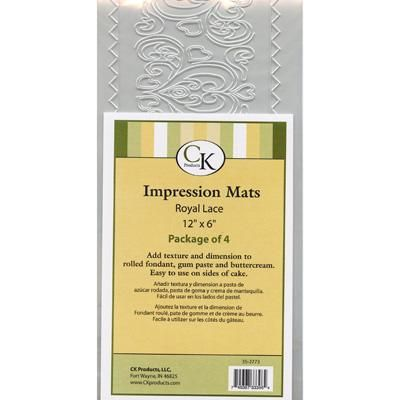 Impression Mat - Royal Lace, Set of 4
