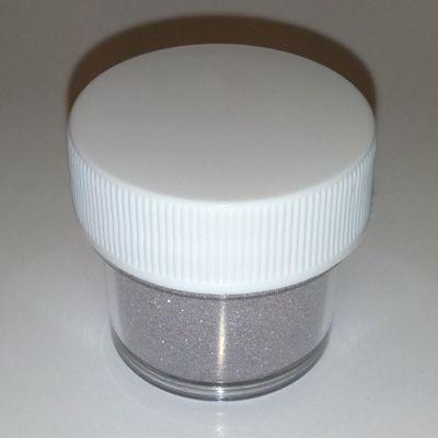 4.5g Fine Glitter Dust Met Silver