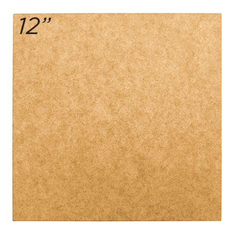 "Masonite Cake Board 12"" Square"