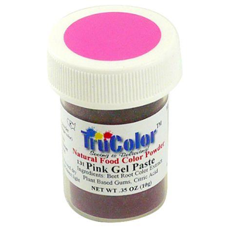 TruColor Natural Hot Pink Gel Paste Powder Color, 9g
