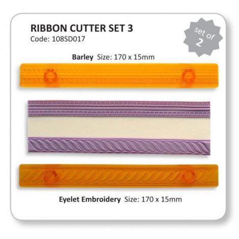 Ribbon Cutters Set 3 (Barley & Eyelet)