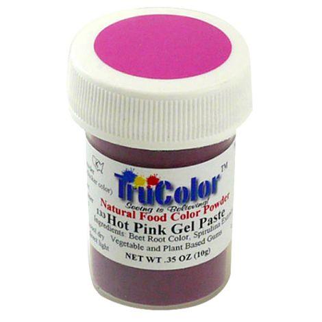 TruColor Natural Super Pink Gel Paste Powder Color, 9g