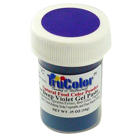 TruColor Natural Deep Violet Gel Paste Powder Color, 8g