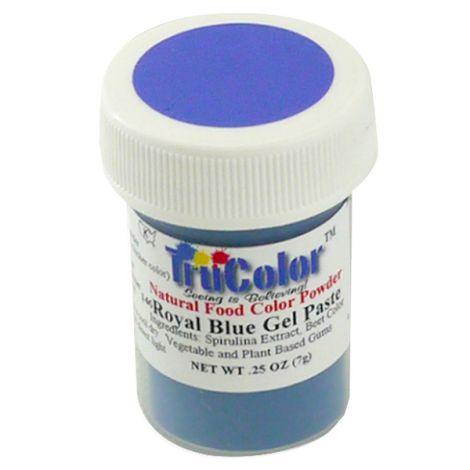 TruColor Natural Royal Blue Gel Paste Powder Color, 7g