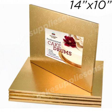 "14x10 Gold Drum, 1/2"""