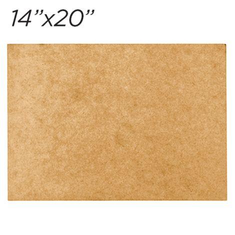 Masonite Cake Board 14x20 Rectangle
