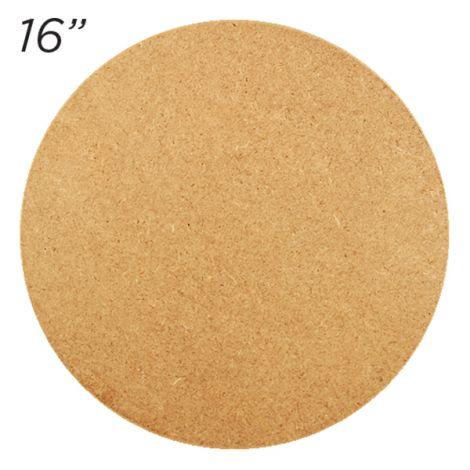 """Masonite Cake Board 16"""" Round"""