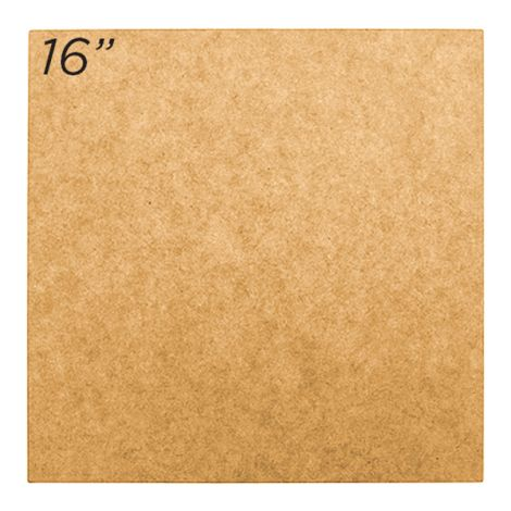"Masonite Cake Board 16"" Square"