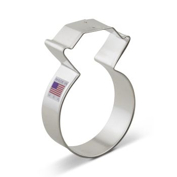 Cookie Cutter Diamond Ring 3.75""