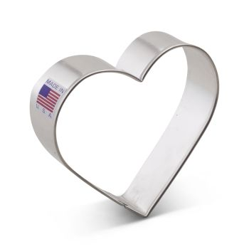 Cookie Cutter Heart 3 1/4""