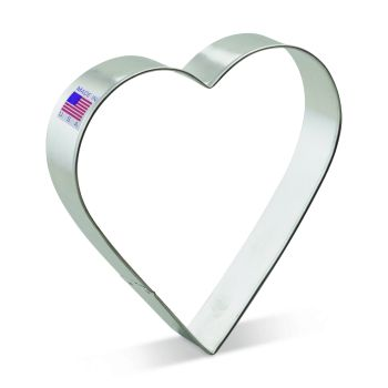 Cookie Cutter Heart 5""