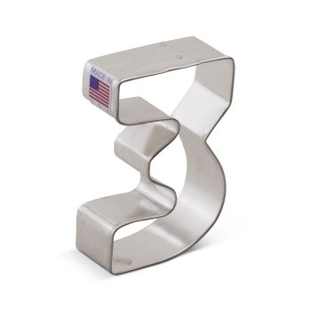 Cookie Cutter Number # 3