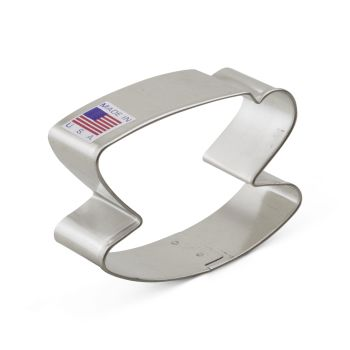 Cookie Cutter Teacup Saucer 2 5/8 inch
