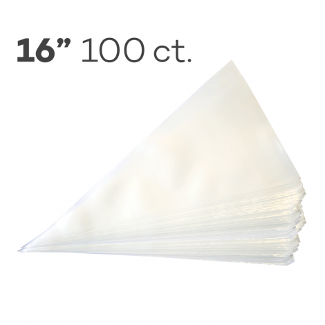 """Piping Bags 16"""", Pack of 100"""