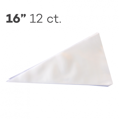 """Piping Bags 16"""", Pack of 12"""