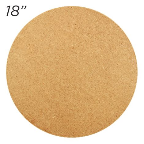 "Masonite Cake Board 18"" Round"