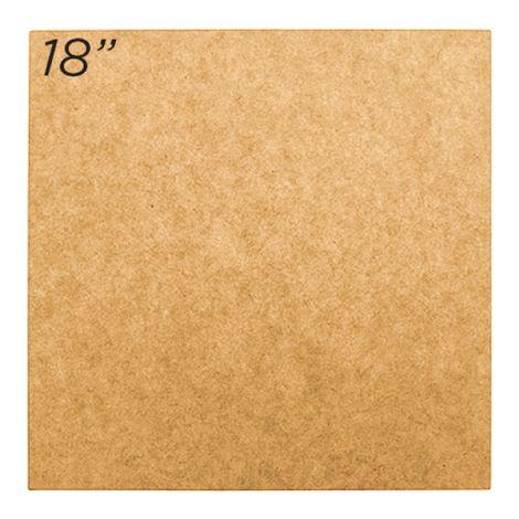 """Masonite Cake Board 18"""" Square"""