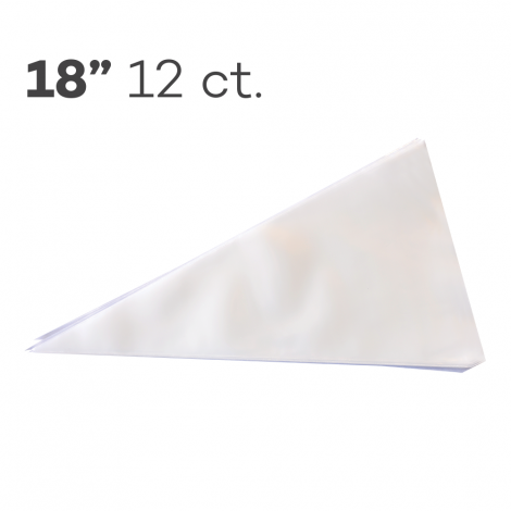 """Piping Bags 18"""", Pack of 12"""
