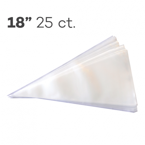 """Piping Bags 18"""", Pack of 25"""