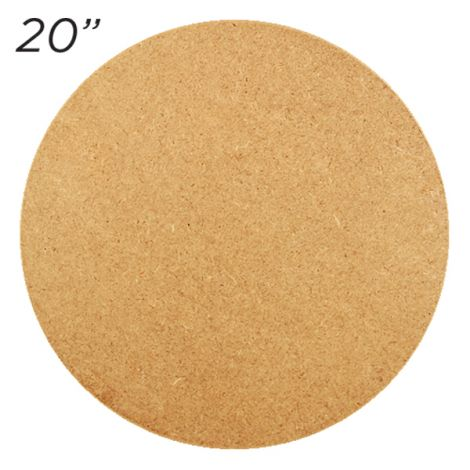 "Masonite Cake Board 20"" Round"