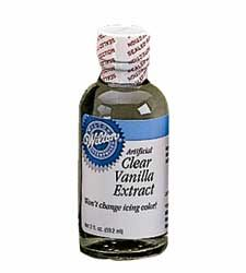 8oz Clear Vanilla Extract
