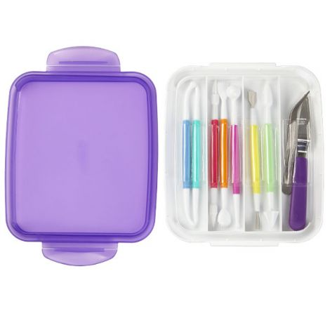 Fondant and Gum Paste Tool Set , 10 pc