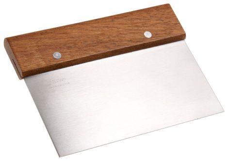 Bench Scraper Wooden Handle