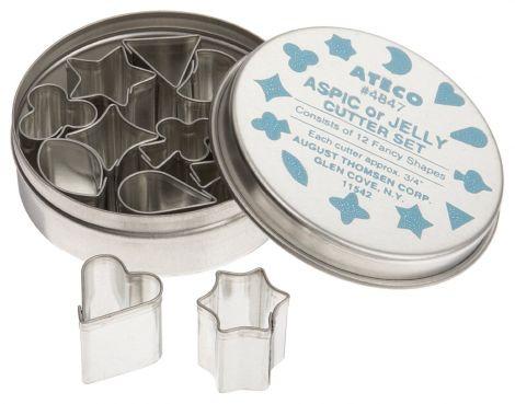Small Aspic Cutter Set