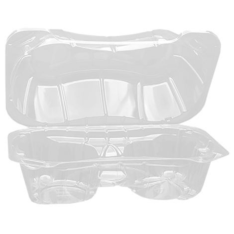 2 Muffin Cup Container, 500 ct