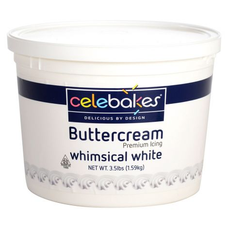 Celebakes Whimsical White Buttercream Icing, 3.5 lb