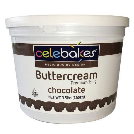 Buttercream Icing Chocolate 3-1/2#