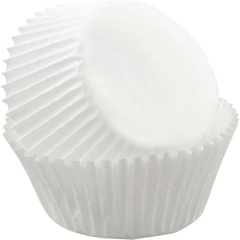 "White Baking Cups pkg. 2-1/4 x 1-5/8"" tall, 500 ct."