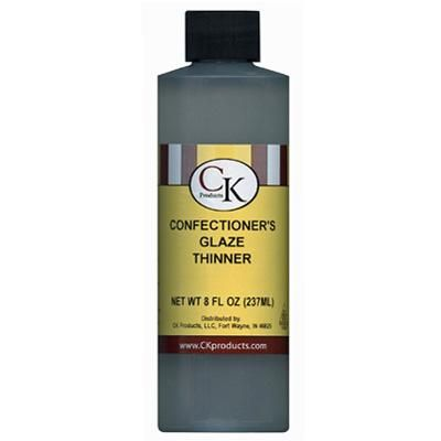 8 oz Thinner for Confectioners Glaze