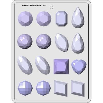 """Gems Assortment 1-3/4"""""""