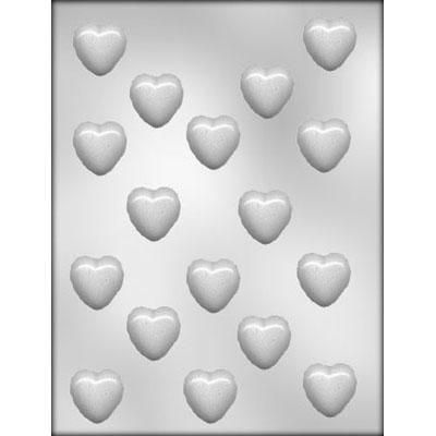 "1-1/8"" Heart Choc Mold"
