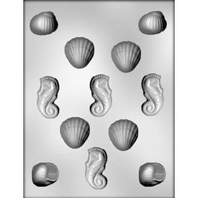 3D Shell Assortment Choc Mold