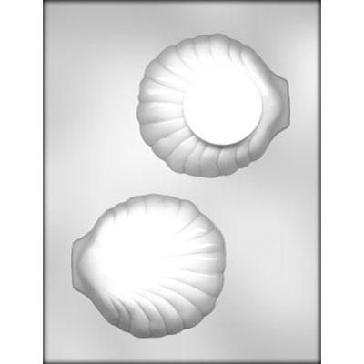 """4-1/4"""" 3D Clam Shell Choc Mold"""