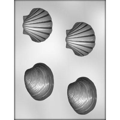 "2-3/4"" Shells Choc Mold"