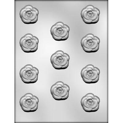 "1-3/8"" Rose Choc Mold"