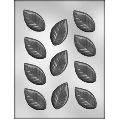 "2-3/8"" Rose Leaf Choc Mold"