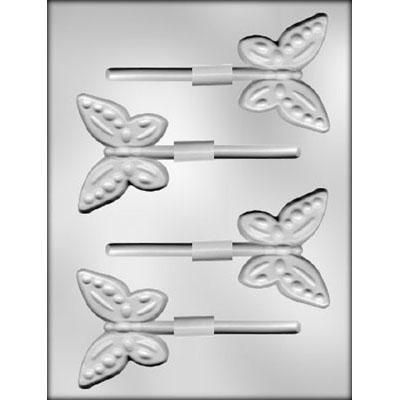 """2-3/4"""" Butterfly Skr Choc Mold"""