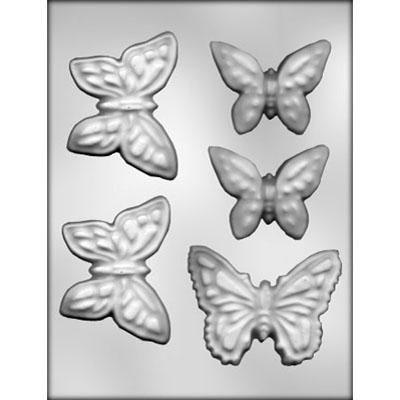 Butterfly Assortment Choc Mold
