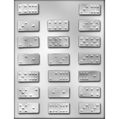 "1-3/4"" Domino Choc Mold"