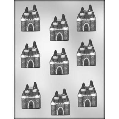 "2"" Castle Choc Mold"