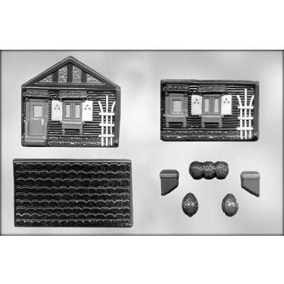 3D House Choc Mold